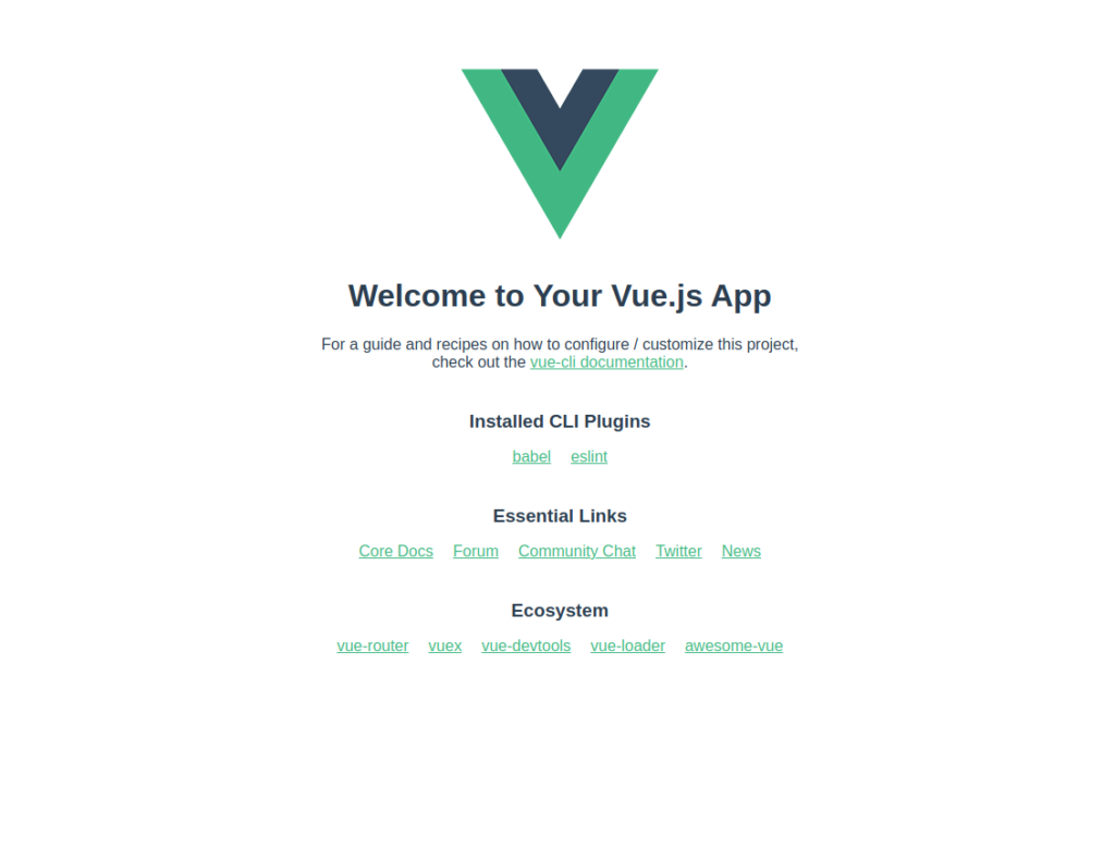 Install Vue CLI on Ubuntu 20.04